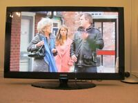 "50"" SAMSUNG PLASMA TV WITH SWIVEL BASE"