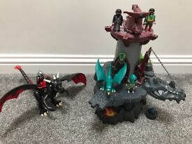 Playmobil Knight castle and dragon