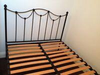 Kingsize bedframe and Hypnos mattress
