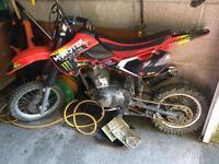Honda road legal pit bike