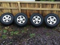Landrover Defender Boost Alloy Wheels
