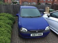 Vauxhall Corsa B 1.2 16v (2000) spares or repair