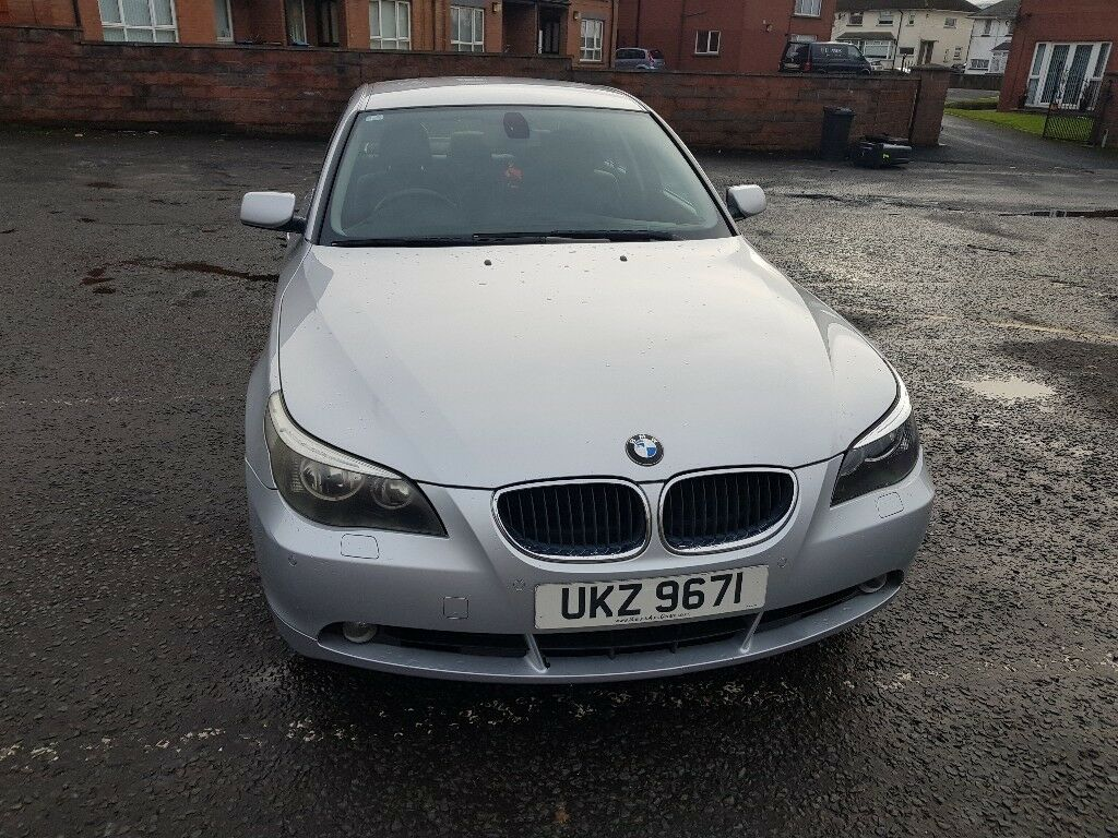 silver bmw 530d 2004 diesel 5 series e60 in newtownabbey. Black Bedroom Furniture Sets. Home Design Ideas
