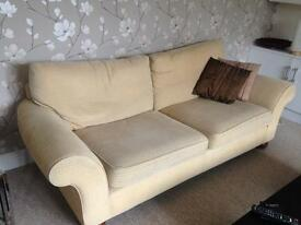 M&S sofa and chair