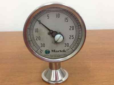 Pre Gefüllt (Martek - Edelstahl, mit Flüssigkeit Gefüllte, Komponente Druckmesser)