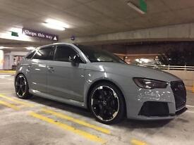 Audi rs3 Quattro 8v not a45 amg vxr Mercedes BMW
