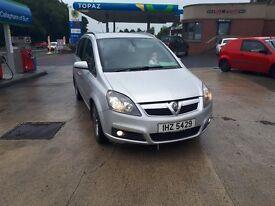 Zafira 1.9 Diesel Mot/Tax 7 seater 150bhp