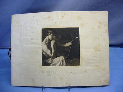 alter Katalog Inneneinrichtung Portois & Fix Wien Österreich Innenarchitektur