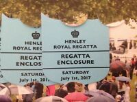 Henley Royal Regatta - Public Enclosure Tickets - Sat 1 July 2017