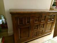 Pippy Oak Sideboard in perfect condition