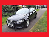 A3 Diesel ----- 2009 Audi A3 1.9 TDi ----- DIESEL Powerful --- Cheap on Fuel --- Nice Black Audi A3