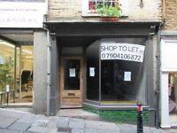 SHOP TO LET IN FROME TOWN CENTRE