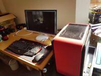 Gaming PC Setup! 8gb Ram, 256gb SSD, 2tb HDD, 2GB VRAM and Artic Cooling System!