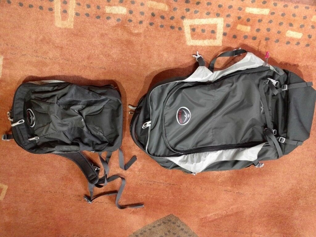 """Osprey Farpoint 70 travel bag   backpack """"Volcanic Grey"""" Colour. Very good  condition. 791c772f0a"""