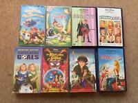 8x Disney kids videos vhs bundle