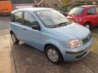 Fiat Panda 1.2 Dynamic, '06 Reg, 1 Lady Owner, 10 Service Stamps, October MOT, New Cambelt