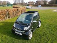 2006 BLACK smart convertible low miles only 42k hpi clear TOP SPEC PX taken