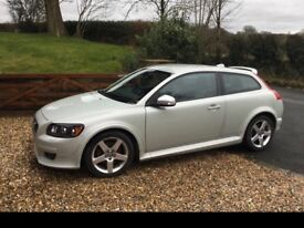 Volvo C30 1.6 R-design, £30 road tax, lady owner , full service