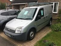 Ford transit connect, 1.8 diesel, 58 plate, roof and pipe rack, rear fully racked