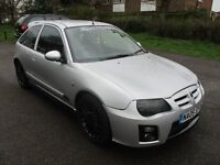 2005 05 MG ZR MGZR 1.4 105 SILVER BLACK ALLOYS TOW BAR 1/2 LEATHER SPOILER SPORTY LOOKER PX SWAPS