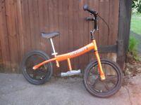 Go Glider (Orange) Bike - ages 5 years old to 10 years