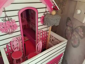 Dolls house for Barbie style dolls.