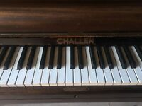 Challen upright piano for restoration