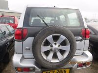 2004 NISSAN TERRANO, 2.7L DIESEL, BREAKING PARTS ONLY, POSTAGE AVAILABLE NATIONWIDE
