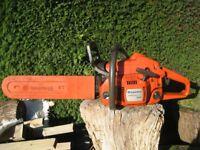Husqvarna 345 petrol chainsaw