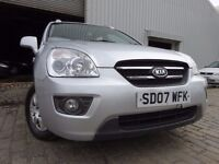 07 KIA CARENS 2.0 DIESEL,MOT MARCH 017,2 OWNERS FROM NEW,2 KEYS,PART HISTORY,LOVELY FAMILY EXAMPLE