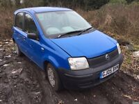 2005 Fiat Panda Active 5dr blue 1.2L Petrol BREAKING FOR SPARES
