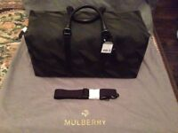 Mulberry Dazzle Clipper Holdall Medium size in Camo Green OR Blue
