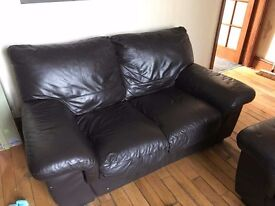 2 and 3 seat sofa underneath ripped £50