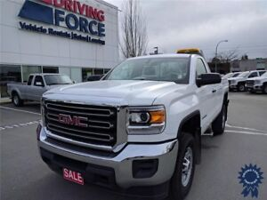 2016 GMC Sierra 2500HD Regular Cab 2WD w/8' Box, 3 Passenger