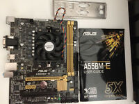 ASUS A55BM-E Socket FM2 Motherboard with AMD A4-5300 Dual Core 3.4Ghz CPU
