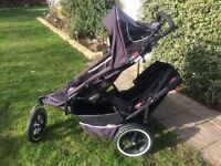 Phil & Teds Sport Double Buggy With Acessories
