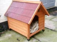 Medium sized dog kennel suitable for spaniel