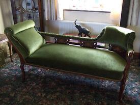 Vintage Chaise Longue