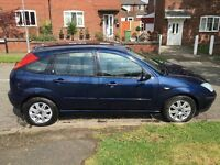 2004 Ford Focus Ghia 1.6 Petrol 5 Door, AirCon, Full MOT, LOW Mileage, Some History, BARGAIN £395