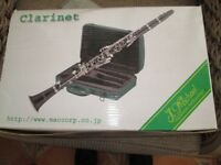 Bb Clarinet, New Boxed Ideal as beginner instrument complete with case