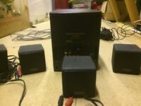 PC speakers 5.1 surround sound system Cambridge DTT2200
