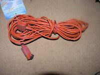 Flymo Extension lead For Lawnmower etc 15 Metres Long Weymouth