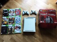 XBOX 360 60GB and 9 Games - Very Good Condition