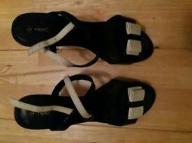 Next strappy shoes size 7