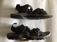 LADIES COTTON TRADERS GREY CASUAL WALKING/SPORTS SANDALS, SIZE 6 BRAND NEW WITH TAGS