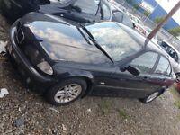 2001 BMW 318i SE 1895cc Petrol 5 Door - MOT Sept 2017 - 92484 Miles - Spare or Repair
