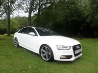 2013 AUDI A4 2.0 TDI S-LINE BLACK EDITION **£30 ROAD TAX**FINANCE AVAILABLE**