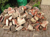Bricks for hardcore, approx 180 in total, Free to collect from Stotfold asap