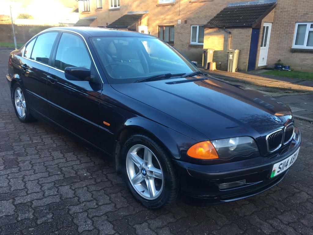 BMW 323i SE Saloon 2.5 Petrol Automatic, 1999/S Reg, BRAND NEW MOT, Full S/Hist, 4 Dr, Orient Blue