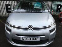 Citroen C4 Gr Picasso Excl Adream Ehdi 1.6, 2014, Manual - £62 PER WEEK - CAR IS £8995